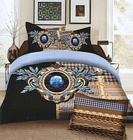 Комплект постельного белья (евро-размер) № 737 код: 737
