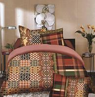 Комплект постельного белья (евро-размер) № 738 код: 738