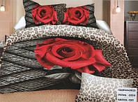 Комплект постельного белья (евро-размер) № 752 код: 752