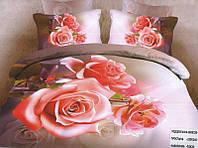 Комплект постельного белья (евро-размер) № 754 код: 754