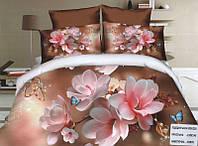 Комплект постельного белья (евро-размер) № 755 код: 755