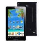Планшет-телефон М7, Android, черный, белый. Оригинальный чехол в подарок.