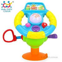 Игрушка музыкальный руль Huile Toys 916