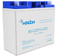 Аккумуляторная батарея MERLION AGM 6-DZM-20