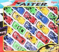 Набор гоночных машинок 25 штук в наборе