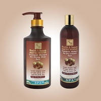 Шампунь с маслом аргана для здоров'я и блеска волос 780 мл, израильская косметика Health and beauty