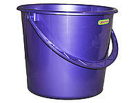 Ведро 14л ТМ Алеана(фиолетовый перламутр)