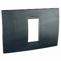 SHNEIDER ELECTRIC UNICA ALLEGRO Рамка одномодульная Серый графит