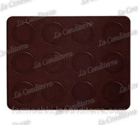Силиконовый коврик для выпечки макаронс PAVONI FRFW HOOPIESMRA