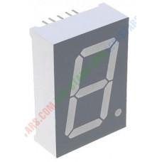Зелений семисегментний LED індикатор FYS-10012 BG-21 (24*10,5*34) 1-розрядний FORYARD загальний анод