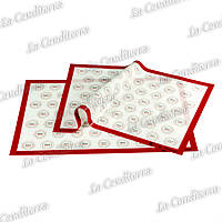 Силиконовый коврик для макаронс PAVONI (аналог Silikomart MAC02)