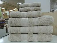 Полотенце  махровое банное НАТУР бамбук+хлопок MOOD
