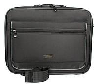 Чоловіча сумка під ноутбук і / або документи на жорсткому каркасі (52010)