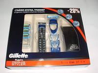 Бритва стайлер Gillette Fusion ProGlide Styler с 4 кассетами + 3 нас. для моделирования 3-в-1