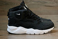 "Кроссовки зимние Nike Huarache Winter ""Black/White"", фото 1"