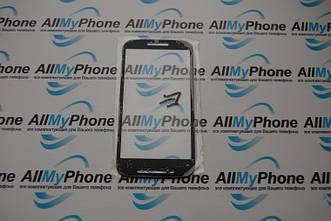 Стекло корпуса для мобильного телефона Motorola E черное