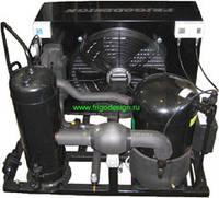 Холодильний агрегат на базі компресора Copeland Scrol ZB76K4E , що був в експлуатації  2005 р.в.