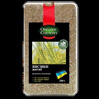 Отруби  Ржаные  NATURAL GREEN 200 грамм