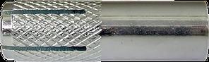 Анкер забивной стальной с внутренней метрической резьбой M10x40 d12 (100 шт/уп)