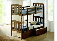 Двухъярусная кровать «Мальвина», Деревянная кровать