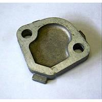 Заглушка блока вместо штатного бензонасоса при установке электробензонасоса алюминиевая