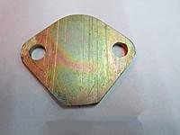 Заглушка блока вместо штатного бензонасоса при установке электробензонасоса стальная