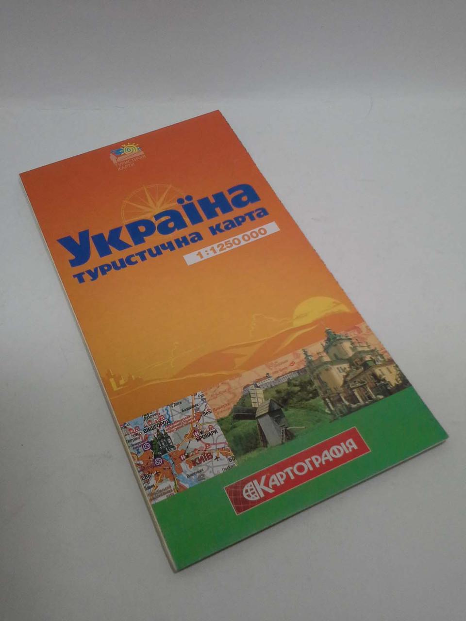 Турист Україна Туристична карта 1:1 250 000