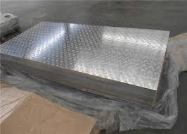 Лист алюминиевый  рифленый квинтет 3,0х1500х3000 мм купить цена порезка доставка