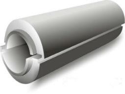 Пенопластовая скорлупа толщиной 40мм для труб разного диаметра