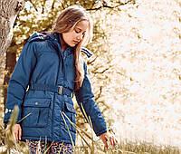 Термо куртка пальто для девочки Чибо Tchibo Германия на подростка рост
