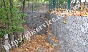 Укрепление оползнеопасного склона в Обуховском районе Киевской области