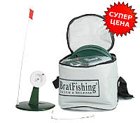 Жерлицы BratFishing набор для зимней рыбалки (оснащённые)