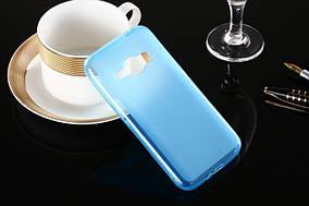 Силиконовый чехол Utty Regular TPU на Samsung Galaxy J1 Ace SM-J110H Blue