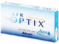 Контактные линзы ежемесячной замены Air Optix Aqua