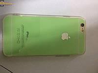 Чехол силиконовый для Iphone 6/6s зеленый