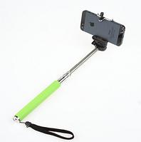 Монопод для селфи (селфи палка) беспроводной Z07-5 розовый