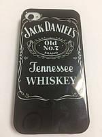 Чехол силикон Jack Daniels для iPhone 4\4S
