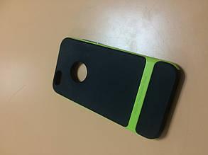 Чехол накладка на заднюю панель Rock для iPhone 6 салатовая