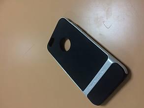 Чехол накладка на заднюю панель Rock для iPhone 6 silver