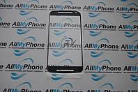 Стекло корпуса для мобильного телефона Motorola G2 черное