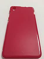 Чехол цветной силикон для Lenovo S850 красный