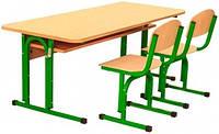 Комплект: парта+два стільці 0155, 0290