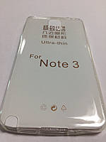 Силикон ультратонкий прозрачный для Samsung Note 3 N900 white
