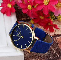"""Часы наручные """"Geneva classic"""" синие"""