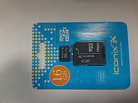 Карта памяти microSD Iconix 16 gb 10 class