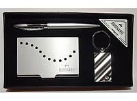 Подарочный набор MOONGRASS: ручка + брелок + визитница MTC-51 5