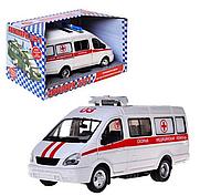 Инерционная  машина «Скорая помощь»   «Автопарк» Play Smart BOX