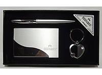 Подарочный набор MOONGRASS:MTC-53 5 ручка + брелок + визитница