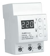 Реле напряжения ZUBR D40t (40 А (max 50 А), 8 800 ВА )