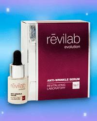 Антивозрастная сыворотка от морщин № 7 REVILAB Evolution